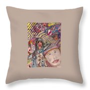 Drawings Throw Pillow