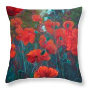 Drawn To The Rythm Throw Pillow