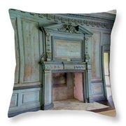 Drayton Hall Interior 1 Throw Pillow