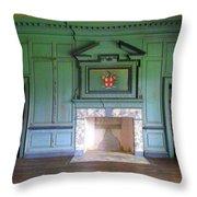 Drayton Hall Interior 3 Throw Pillow