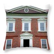Drayton Hall Riverfront Throw Pillow