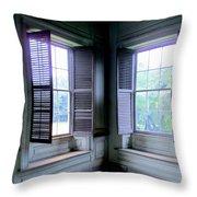 Drayton Interior Window 2 Throw Pillow