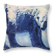 Dream Bear Throw Pillow
