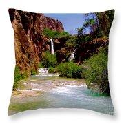 Dream Canyon Throw Pillow