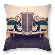 Dream Car Throw Pillow by Edward Fielding