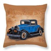 Dream Cars Inc. Throw Pillow