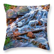 Dream Cascade Throw Pillow