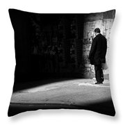 Dream - New York City Street Scene Throw Pillow
