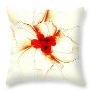 Dream Flower Throw Pillow