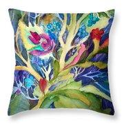 Dream Foliage Throw Pillow