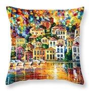 Dream Harbor Throw Pillow