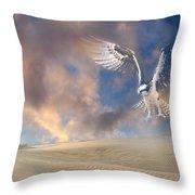 Dream Hawk Throw Pillow