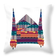 Dream Homes Buy Any Faa Product Or Download For Self-printing  Navin Joshi Rights Managed Images Gra Throw Pillow