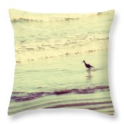 Dream In Aquamarine Throw Pillow by Amy Tyler