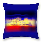 Dreaming Of Our Own Castle  Throw Pillow