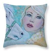 Dream On Dreamer Throw Pillow by The Art With A Heart By Charlotte Phillips