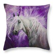 Dream Stallion Throw Pillow