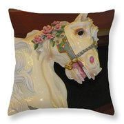 Dream Steed Throw Pillow