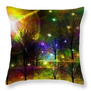 Dream Time In The Park Throw Pillow by Sydne Archambault