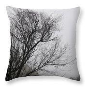 Dreamer Tree Throw Pillow