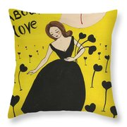 Dreaming About Love Throw Pillow