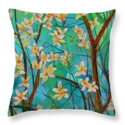 Dreaming. Throw Pillow