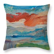 Dreaming Color Throw Pillow