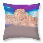 Dreaming Landscape Throw Pillow by Augusta Stylianou