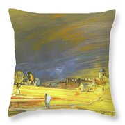 Dreaming Of Morocco Throw Pillow