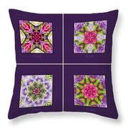 Dreaming Of My Garden Group 1 Throw Pillow