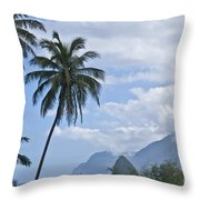 Dreaming Of Paradise Throw Pillow