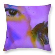 Dreaming Of Throw Pillow