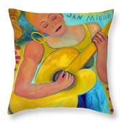 Dreaming Of San Miguel Throw Pillow
