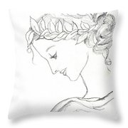 Dreaming Of The Dance Throw Pillow