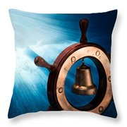 Dreaming Of The High Seas 1 Throw Pillow