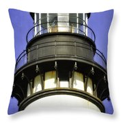 Dreaming Of The Lighthouse Throw Pillow