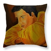 Dreaming On Deck Throw Pillow