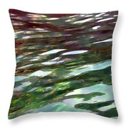 Dreaming On The Water Throw Pillow