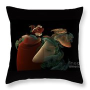 Dreaming Throw Pillow by Peter R Nicholls