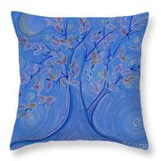 Dreaming Tree By Jrr Throw Pillow