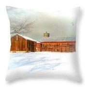 Dreams Of A White Christmas Throw Pillow