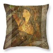 Dreams Of Absinthe - Steampunk Throw Pillow