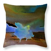Dreams Of Blue Trees Throw Pillow