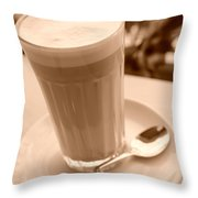 Dreams Of Coffee  Throw Pillow