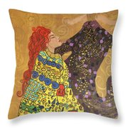 Dreams Of My Lord Throw Pillow