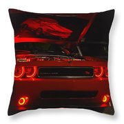 Dreams Of Red Seduction Throw Pillow