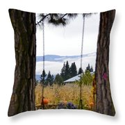 Dreams Of The Swing Throw Pillow