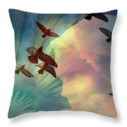 Of Lucid Dreams / Dreamscape 6 Throw Pillow