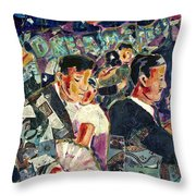 Dreamstreet Dancers Throw Pillow