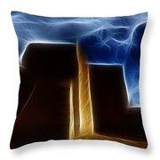 Dreamtime Adobe Throw Pillow